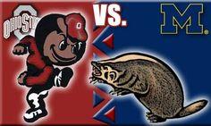 The greatest rivalry in college football! Ohio State vs Michigan!