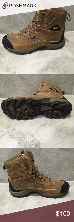 Under Armour Speed Freek Bozeman Boots New Under Armour Speed Freek Bozeman / Waterproof / Size 11.5 / Hiking / Brown / Trail / New without Box Under Armour Shoes Boots