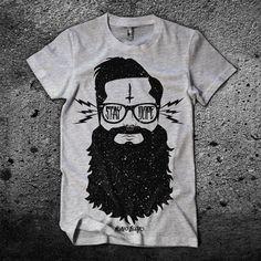 Weirdo Beardo Design & Apparel â?? Stay Dope Men's Graphic T-Shirt