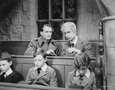Goodbye, Mr. Chips (1939) - John Mills and Robert Donat