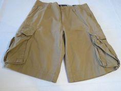 Men's Tommy Hilfiger 40 shorts cargo 232 khaki 860616854 walk casual TH RARE