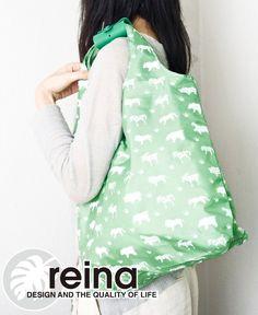 livingut | Rakuten Global Market: Grip eco bag roll animal pattern (shopping bags eco bag bag folding compact shopping bag regicago bag shopping bag ecology bags)