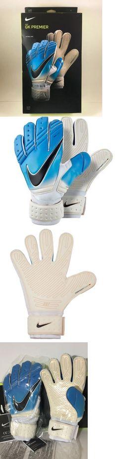 Gloves 57277: New Sz 9 Nike Gk Premier Sgt Soccer Goalie Goalkeeper Gloves Blue Gs0326 169 -> BUY IT NOW ONLY: $69.95 on eBay!