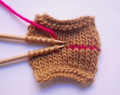 Costuras invisibles (kitchener stitch)