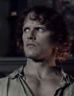 "Jamie Fraser (Sam Heughan) in ""Lallybroch"" of Outlander on Starz via http://www.springfieldspringfield.co.uk/view-screencaps.php?tv-show=outlander-2014&episode=s01e12"