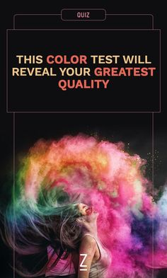 Take the quiz: this color test will determine your greatest quality.