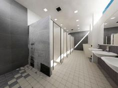 Commerical restrooms
