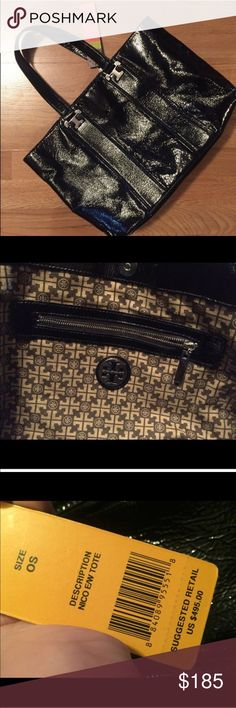 Tory Burch Handbag Beautiful!! I took the tags off this week but then decided I need something larger (I'm a teacher, and we need huge bags:) non smoking home, no flaws.. It's truly gorgeous!!! Tory Burch Bags
