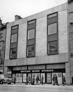 BHS opens November 6 1974 as the companies second largest site in Britain Aberdeen Shopping, British Home Stores, Aberdeen Scotland, Space Place, Picture Show, Past, Exterior, Landscape, Architecture