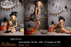 Mily photography halloween photosession