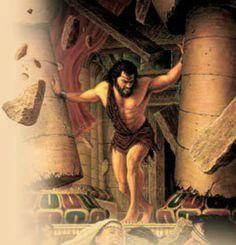 9 Samson ideas | biblical art, bible art, bible pictures
