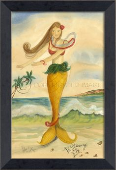 Stowaway of the Beach Mermaid - Small