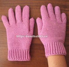 Crochet patterns for scarves fingerless mittens 27 ideas Crochet Gloves Pattern, Crochet Mittens, Fingerless Mittens, Crochet Baby Hats, Knitted Gloves, Crochet Clothes, Knit Crochet, Crochet Hooks, The Mitten
