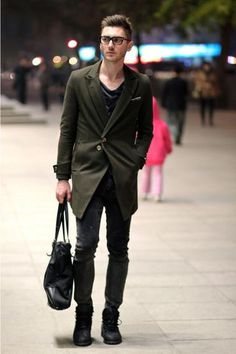 love the coat and the bag