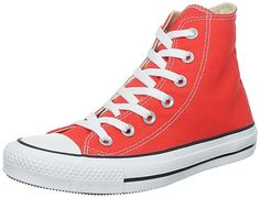 Converse - Zapatos para mujer, color cherry tomato, talla 39.5