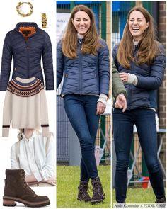 Estilo Kate Middleton, Kate Middleton Outfits, Princess Kate Middleton, Kate Middleton Style, George Et Charlotte, Princess Katherine, Ladylike Style, Mein Style, Cute Winter Outfits