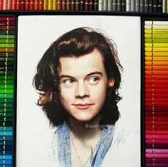 Harry Styles drawing                                                                                                                                                                                  Más