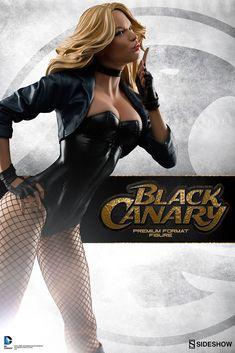 SIDESHOW COLECIONÁVEIS - Revela Canário Negro Estátua premium! ~ Falo o que gosto Universo Nerd e Geek - Filmes - Séries - Games - HQs - Quadrinhos e Super-heróis!