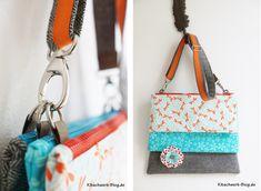 DIY: Drei Taschen zum selber nähen! Freebook! Die kostenlose Anleitung beinhaltet 4 Seiten Text + Fotos. Gratis- Download :-)