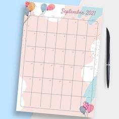 12 Month Birthday Calendar template can help you focus, stay on top of things and keep track of your activities and manage time effectively. This collection is full of ready-made professionally-designed templates. It is available for downloading in PDF in A4/A5/US Letter/Half Letter sizes. #birthday #calendar #calendars #birthdays #template Blank Monthly Calendar Template, Day Planner Template, Monthly Budget Template, Printable Planner, Printables, Monthly Calendars, Monthly Planner, Calendar Pages, 2021 Calendar