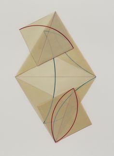 Dorothea Rockburne.Montreal, Canada (1932). Lives and works in New York, NY. Gallery Greenberg Van Doren