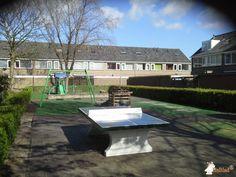 Pingpongtafel Groen bij Speelplaats in Warmond
