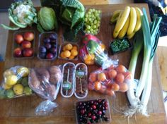 Local fruit and veg - Shop local and save a few bob!