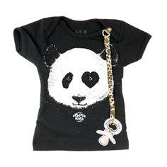"Baby Tee-shirt ""Protect"" with pacifier folder...  www.electrikkidz.com"