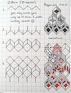 zentangle tutorial - Buscar con Google
