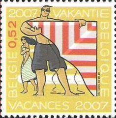 Summer Stamp 2007 - Kiting