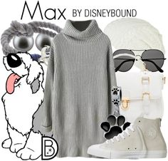 I love how the sunglasses mimic the fur over Max's eyes in this Little Mermaid outfit. | Disney Fashion | Disney Fashion Outfits | Disney Outfits | Disney Outfits Ideas | Disneybound Outfits |