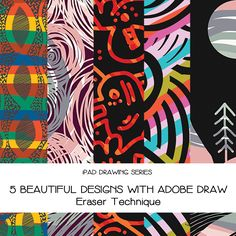 Who wants to draw with iPad and AdobeDraw with me ? I teach you 5 different awesome projects from African Motif, Line & Shape, Simple Zentangle, Scenery and Doodle.  Get FREE 30 days membership in @skillshare with link http://skl.sh/2ggyeRD  See you in class! www.skillshare.com/hannyhoney