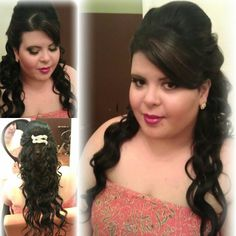 Bridal hair #wedding #hairstyles #wandcurls