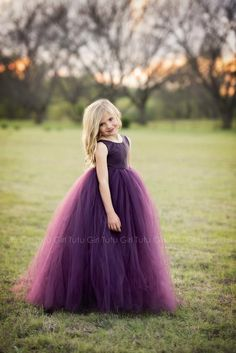 Purple Flower Girl Dress Plum Tutu Dress Eggplant Tulle Dress Flower Girl Wedding – All Colors, All Sizes! Plum Flower Girl Dresses, Purple Flower Girls, Tulle Flower Girl, Purple Bridesmaid Dresses, Tulle Flowers, Girls Dresses, Pageant Dresses, Party Dresses, Long Dresses