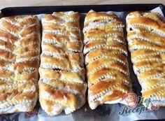 Kinder mliečny rez – rýchly a výborný koláčik bez múky! Hot Dog Buns, Nutella, Banana Bread, French Toast, Brunch, Treats, Snacks, Cooking, Breakfast