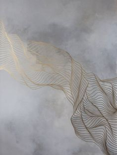 """Love it! The painter Tracie Cheng describes her art project as follows: """"Tracie Cheng is an artist interested in dimension, fluidity, and versatility, primarily through lines and color in abs…"""