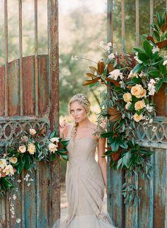 Photography: Carmen Santorelli Photography - carmensantorellistudio.com  Read More: http://www.stylemepretty.com/2014/05/16/a-monochromatic-inspired-wedding-shoot-part-ii/