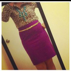 Leopard print, and bright colors - thank you, JCrew!