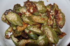 If at first you stink at making okra... try, try {try, try} again. AND I SHALL.
