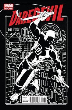 Daredevil #1 Paolo Rivera