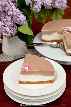 cheesecake-cu-caramel-0-o- Sweet Tarts, Food Cakes, Creative Cakes, Cheesecakes, Cake Designs, Vanilla Cake, Cake Recipes, Caramel, Wedding Cakes