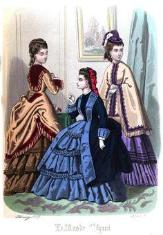 Le Monde Elégant 1873