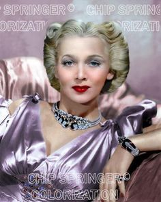 5 DAYS 8X10 CAROLE LANDIS IN JEWELED DRESS STUNNING COLOR PHOTO BY CHIP SPRINGER. Please visit my Ebay Store at http://stores.ebay.com/x5dr/_i.html?rt=nc&LH_BIN=1 to see the current listings of your favorite Stars now in glorious color! Message me if you would like me to relist your favorites. Check out my New Youtube videos at https://www.youtube.com/channel/UCyX926rA5x4seARq5WC8_0w