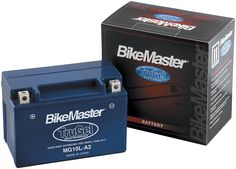 Amazon.com: BikeMaster TruGel Battery - 12N9-4B-1/Blue: Automotive
