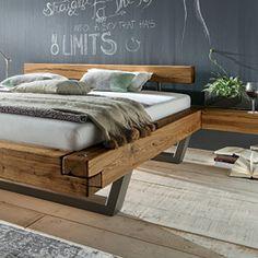 Bedroom Lamps Design, Bed Headboard Design, Headboards For Beds, Bedroom Themes, Industrial Kitchen Design, Industrial Design Furniture, Furniture Design, Rustic Log Furniture, Modern Furniture