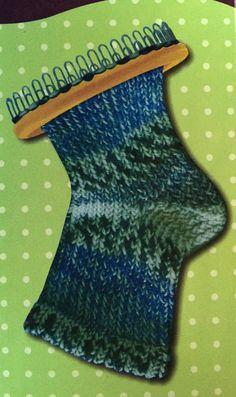Set tricotin oval pour chaussettes, bas, mitaines - 14 x 5,5 cm
