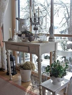 THE VINTAGE STORE: CABINET SHABBY..MUEBLES AUXILIARES SHABBY..