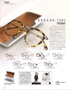 502bd98a9c4 p048s. Liz Yuan · Glasses 眼鏡 · Nonnative Kaneko Optical ...