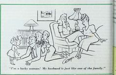 """Reminds me of the husbands in Masters of Sex. Again, this has to be 1950s. Image from page 1363 of """"The Ladies' home journal"""" (1889) 