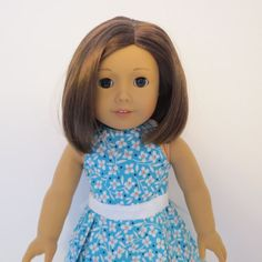 American Girl Doll Clothes  White Flowers and by AmericAnnMade, $15.00